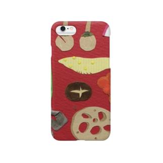 おせちにっぽん Smartphone cases