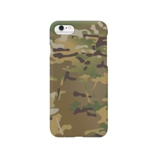 迷彩柄 Smartphone cases