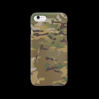 ミリタリー風ショップ US CLUBの迷彩柄 Smartphone cases