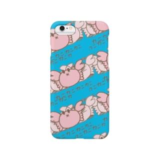 カニカニしゅまほ Smartphone cases
