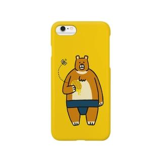 森のお相撲さん Smartphone cases