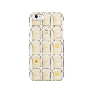 ぶちゃくま。食パンぎっしり Smartphone cases