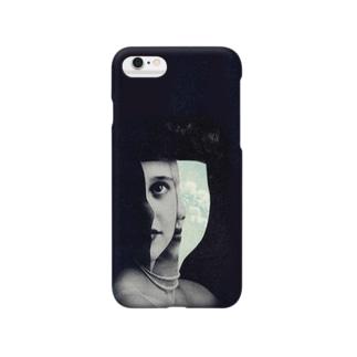 ぼんやりとした白日夢の女 Smartphone cases
