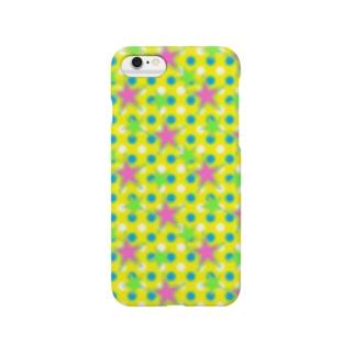 ドット☆スター CF Smartphone cases