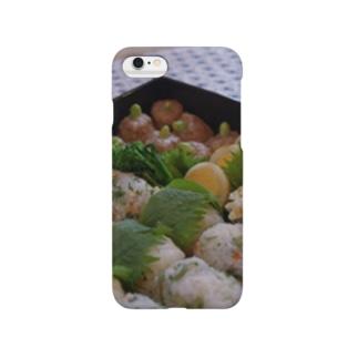 春のお弁当 Smartphone cases