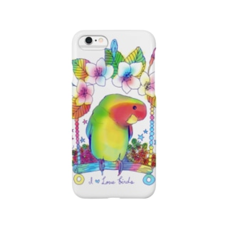 Love bird & Sakura Smartphone cases