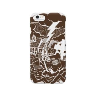 おはか(ちゃいろ) Smartphone cases