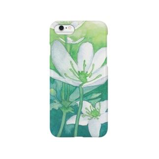ニリンソウ Smartphone cases