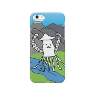 アルプスのイカ Smartphone cases