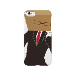 スタイリッシュボックスマン Smartphone cases