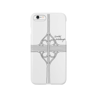 クローバー型インターチェンジ Smartphone cases