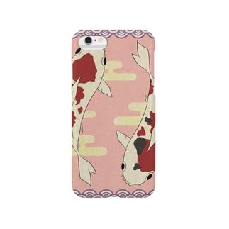 来い鯉シリーズ【恋鯉】 Smartphone cases