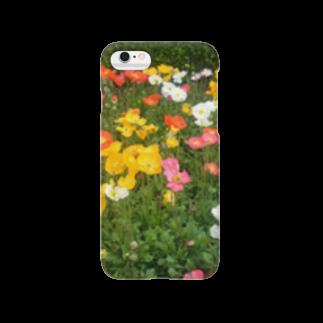 海老のpopy's garden Smartphone cases
