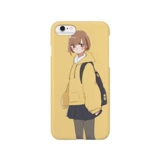 きいろがーる Smartphone cases