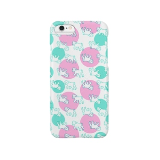 こいぬのさんぽ Smartphone cases