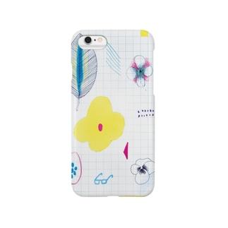 花図鑑 Smartphone cases