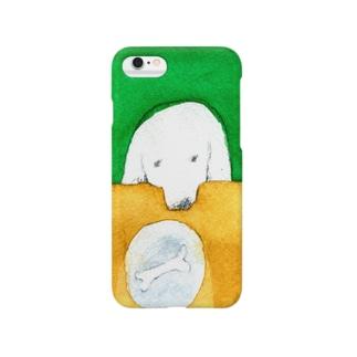 Dog & bone Smartphone cases