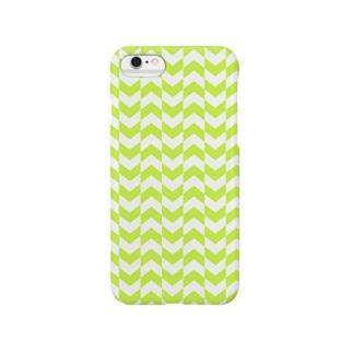 ARROW (グリーン) Smartphone cases