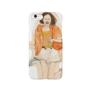 飛び出せ雑誌モデル Smartphone cases