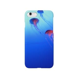 クラゲ空 Smartphone cases