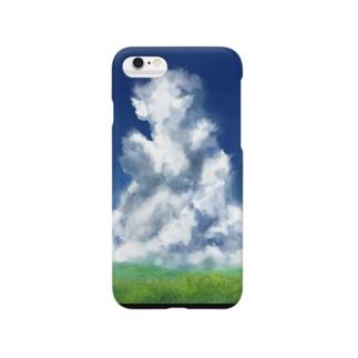 入道雲 Smartphone cases