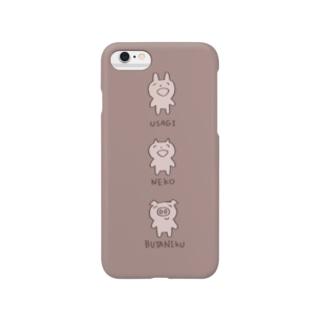 ぶたにく Smartphone cases