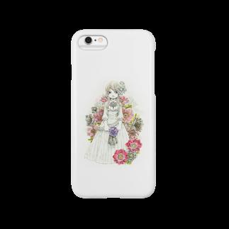 メバエマツモトのアネモネひめ Smartphone cases