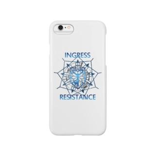 INGRESS RESISTANCE BlueArrow Smartphone cases