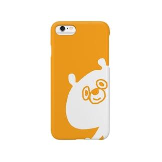 くま(きいろ) Smartphone cases