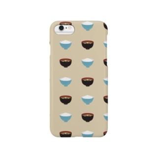ご飯とお味噌汁 Smartphone cases