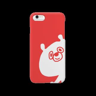 greenishのくま(あか) Smartphone cases