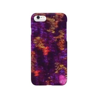 ニットのカモフラ Smartphone cases