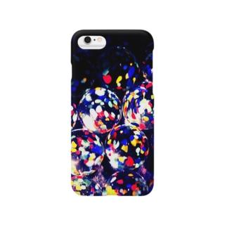 カラフルビー玉 Smartphone cases