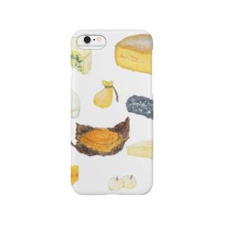 チーズ詰め合わせ スマートフォンケース