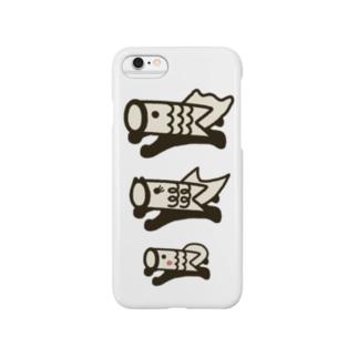 こいのぼりマン編隊飛行 Smartphone cases