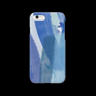 on the blancの明日を描く Smartphone cases