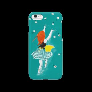 佳矢乃のお花とダンス Smartphone cases