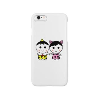 つのっきーとつのっぴー Smartphone cases