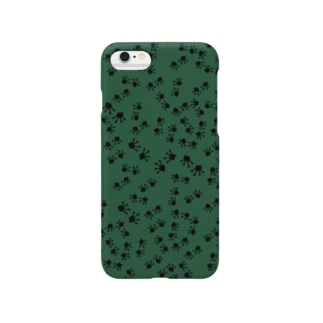 FROG footprints パターン Smartphone cases