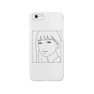 ロングヘアー Smartphone cases