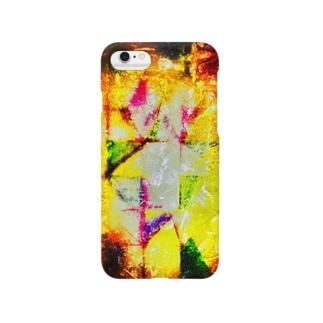 グラフィカルⅣ Smartphone cases