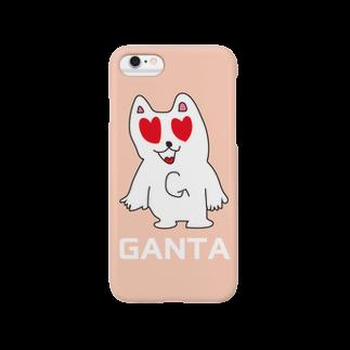 ganta0131のがんたのiphoneケース(ハート) Smartphone cases