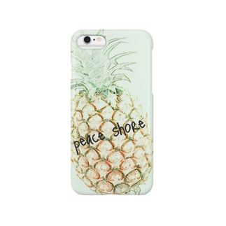 peace shore pineapple Smartphone cases