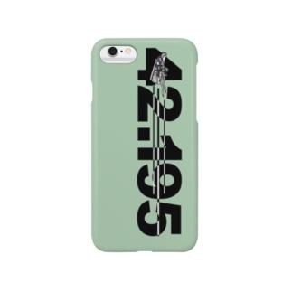 iphon6_42.195km Smartphone cases