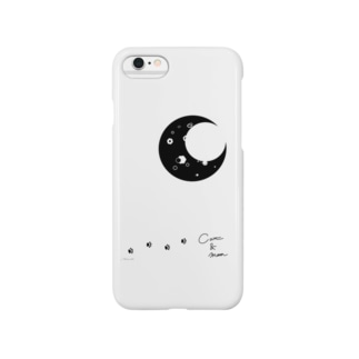 つきとねこ Smartphone cases