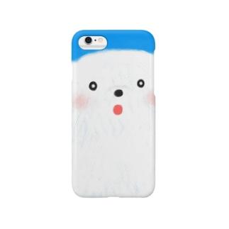 ほわほわしろくまくん Smartphone cases