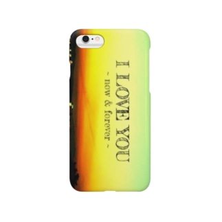 I LOVE YOU ケース Smartphone cases