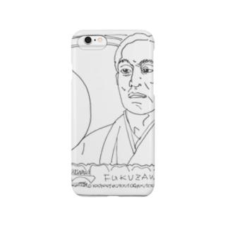 らく顔 沢(ざわ)さん Smartphone cases
