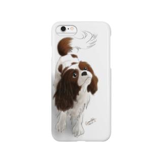 キャバリア№04 ブレンハイム Smartphone cases