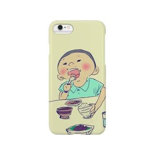 いただきまーす!! Smartphone cases